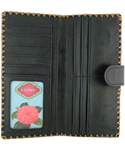 Sweet Life Vegan Leather Wallet by Lavishy - Compassionate Closet
