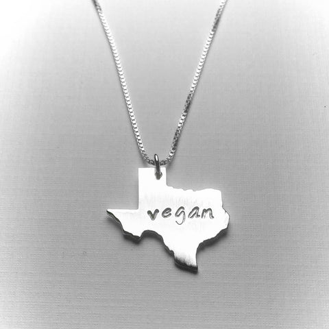 Vegan Texas Necklace by Zaaya