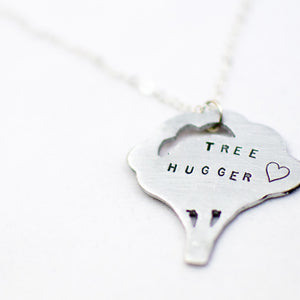 Tree Hugger Necklace by Christy Robinson Designs - Compassionate Closet