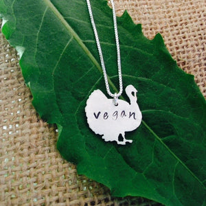 Vegan Turkey Necklace by Zaaya - Compassionate Closet