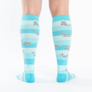 Unicorn of the Sea Women's Socks by Sock it To Me - Compassionate Closet