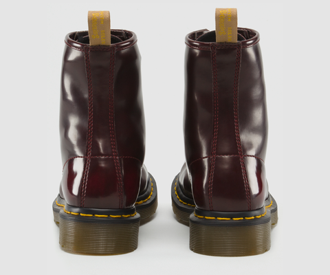 Dr. Marten's 1460 Vegan 8-Eye Boot Cherry Red