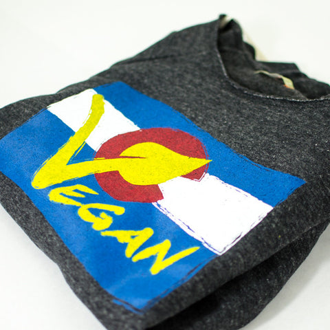 Women's Vegan Colorado Sweatshirt by Compassionate Closet - Compassionate Closet