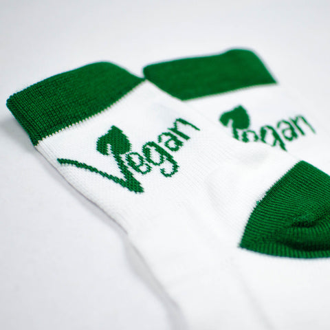 Vegan Leaf Ankle Socks by Compassionate Closet - Compassionate Closet