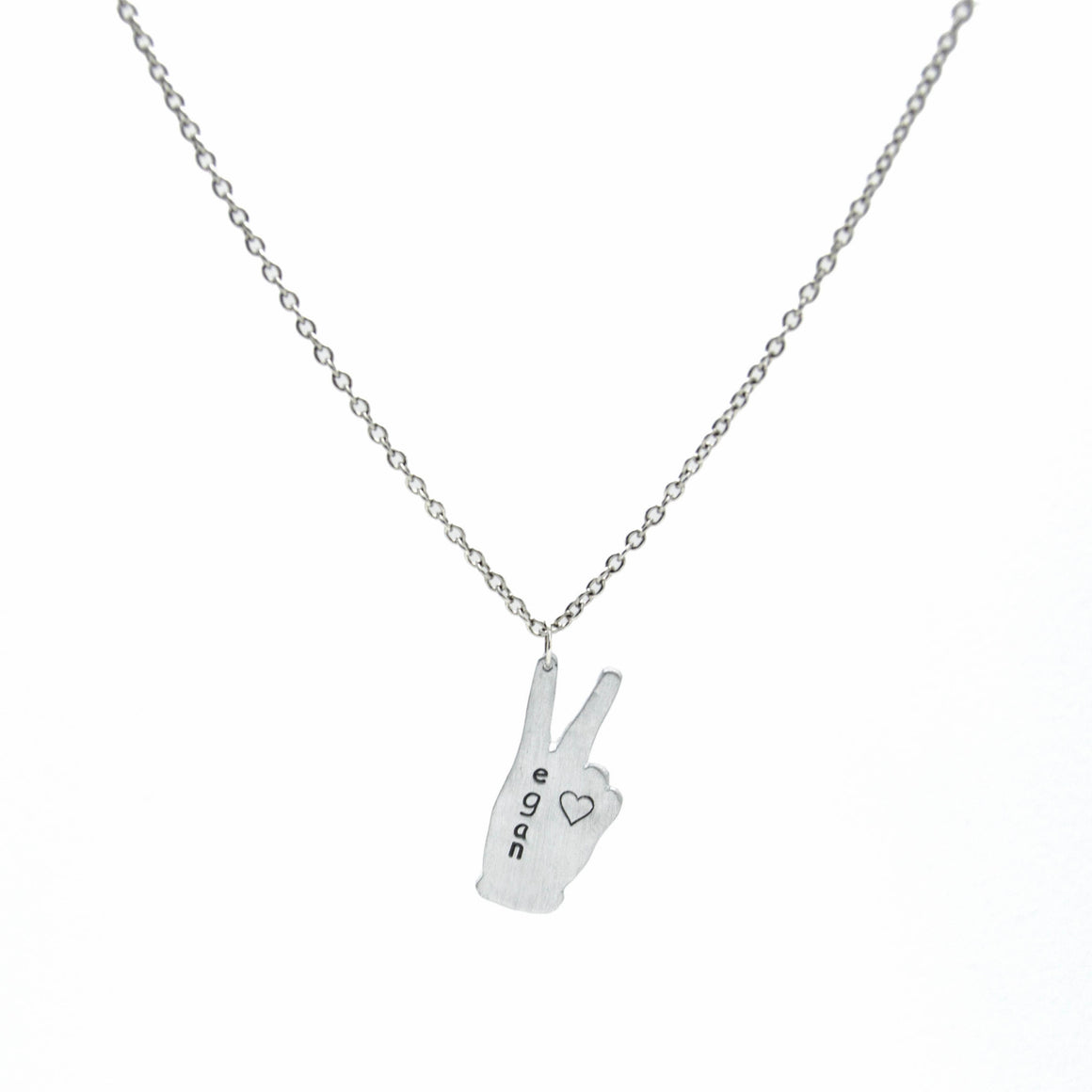 Vote Peace Necklace by Christy Robinson Designs - Compassionate Closet
