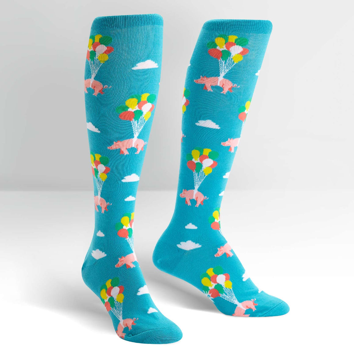 When Pigs Fly Women's Socks by Sock it To Me - Compassionate Closet