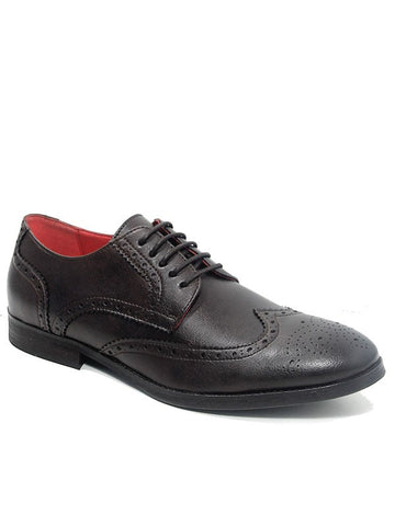 Will's London Men's City Brogues Brown