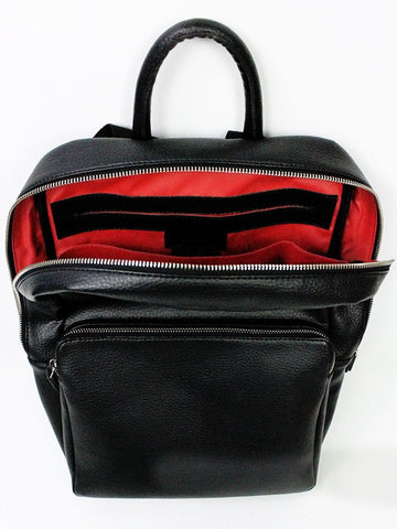 Wills London Backpack Black Interior