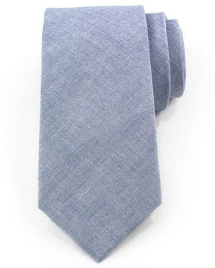 Light Blue Cotton Tie