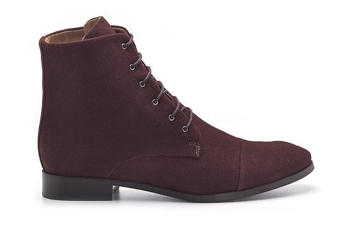 Ahimsa Dress Boot in Marsala side
