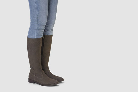 Maria Knee High Boots in Espresso lifestyle