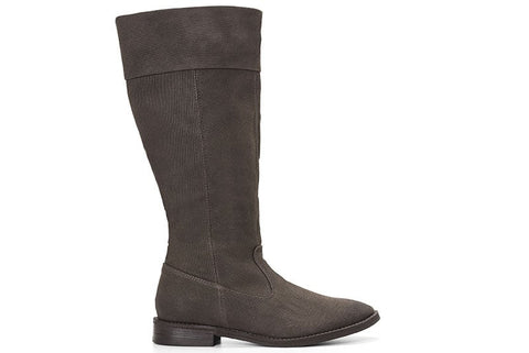 Maria Knee High Boots in Espresso side view
