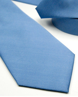 Light Color Solid Tie Light Blue
