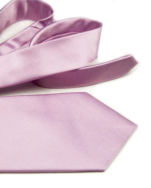 Light Color Solid Tie by Jaan J. - Compassionate Closet