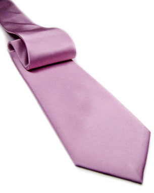 Light Color Solid Tie Light Pink