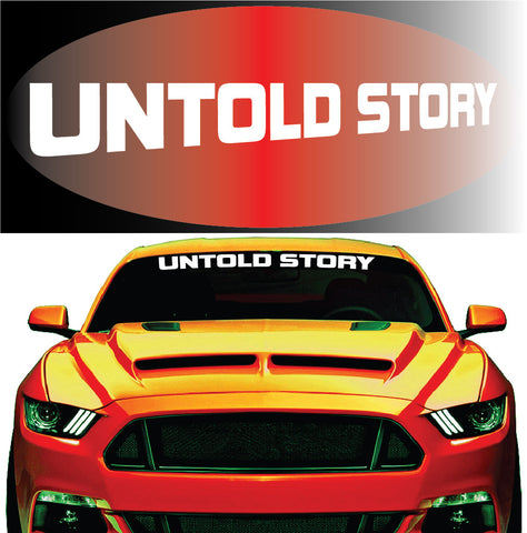 Windshield Banners For Mustang
