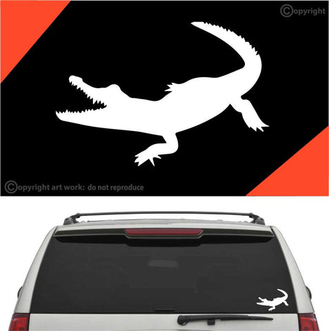 Alligator Car Sticker Decal #A1 Custom Car Decals Car Stickers