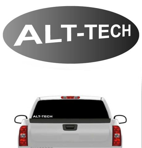 Alt Tech Decal Sticker Window Car Truck Vinyl Decal Custom Car Decals Car Stickers