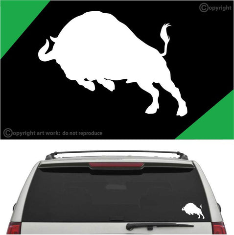 Bull Auto Vinyl Decal Car Sticker A1 Custom Car Decals Car Stickers