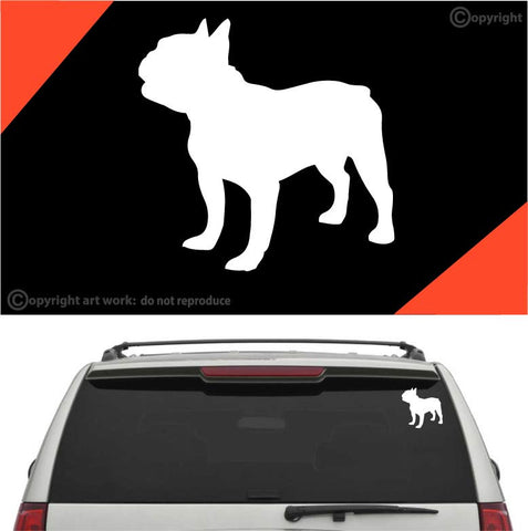Bulldog Decal Car Sticker Custom Car Decals Car Stickers