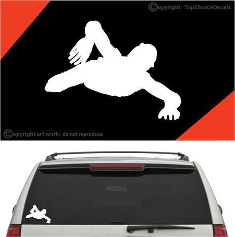 Crawling Zombie Auto Decals Car Stickers A1 Custom Car Decals Car Stickers