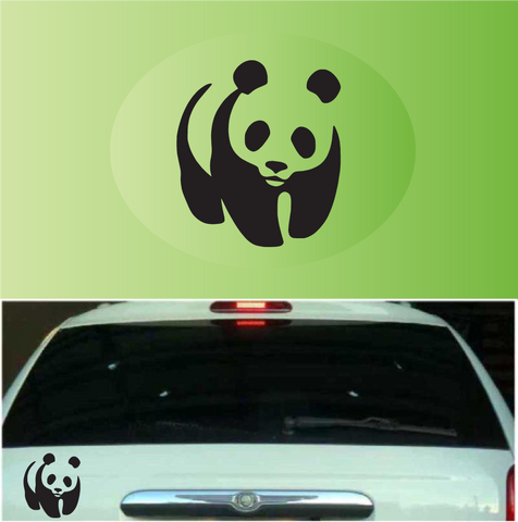 Cute Panda Car Decal Custom Car Decals Car Stickers