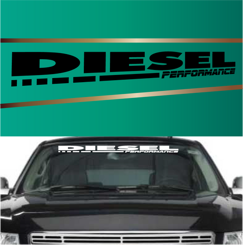 Diesel performance 02 custom truck stickers custom car decals car stickers