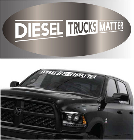 Diesel Trucks Matter Decal Sticker 4x4 Truck Vinyl Banner Custom Car Decals Car Stickers