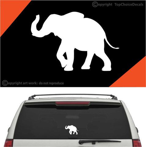 Elephant Auto Decal Car Sticker A1 Custom Car Decals Car Stickers