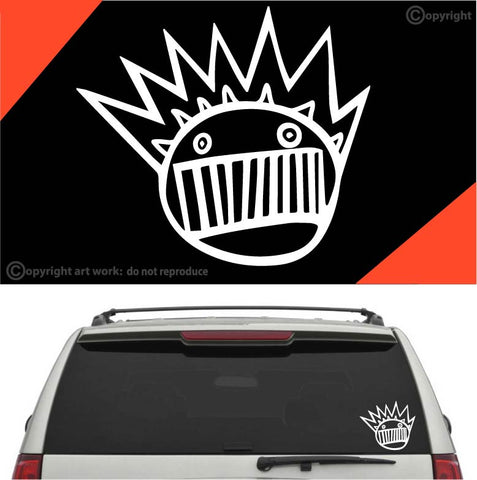Face Auto Decal Car Sticker #A1 Custom Car Decals Car Stickers
