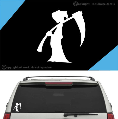 Grim Reaper Auto Decal Car Sticker A1 Custom Car Decals Car Stickers