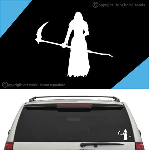Grim Reaper Car Sticker Auto Decal A2 Custom Car Decals Car Stickers
