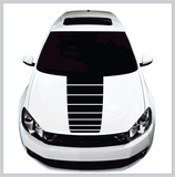 Hood Blackout Stripe Decal | Universal Fit Custom Car Decals Car Stickers