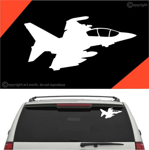 Jet Airplane Auto Decal Car Sticker A1 Custom Car Decals Car Stickers