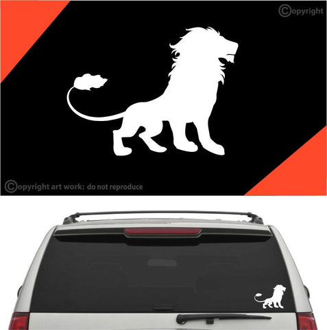 Lion Car Sticker Decal #A1 Custom Car Decals Car Stickers