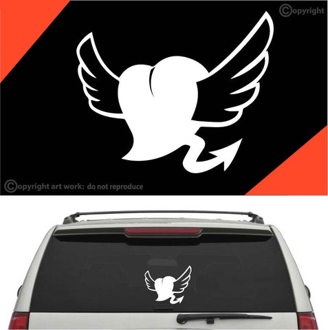 Love Heart Auto Decal Car Sticker #A1 Custom Car Decals Car Stickers
