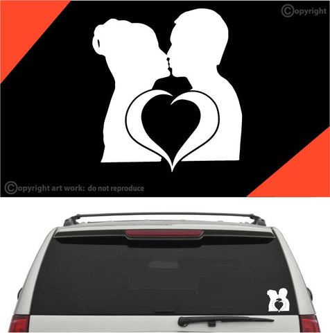 Love Kiss Auto Decal Car Sticker Custom Car Decals Car Stickers