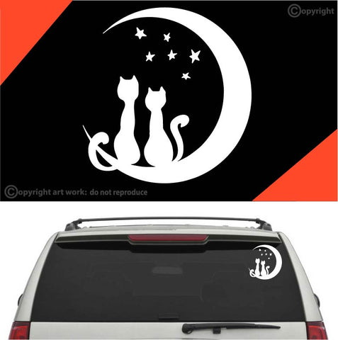 Lovely Cat Auto Decal Car Sticker #A2 Custom Car Decals Car Stickers