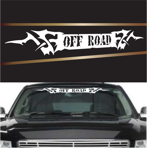 Off road tribal custom auto decal windshield banner custom car decals car stickers