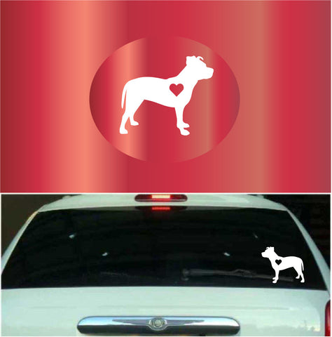 Pitbull Window Car Decal Custom Car Decals Car Stickers
