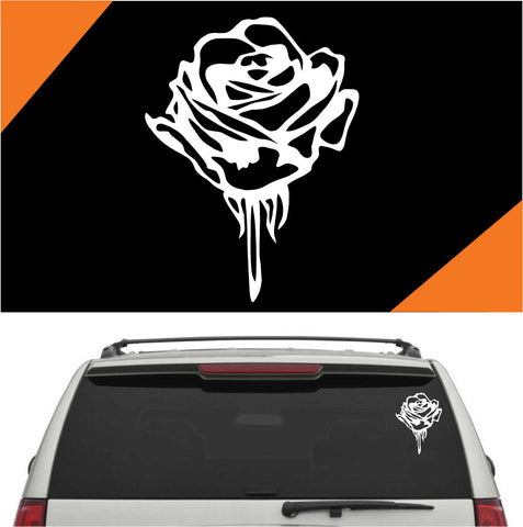Rose Auto Decals Car Sticker A2
