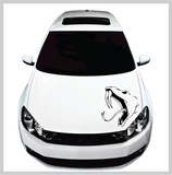 Snake Hood & Body Decal | Universal Fit | #H002 Custom Car Decals Car Stickers