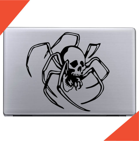 Spider Skull Decal Sticker Custom Car Decals Car Stickers