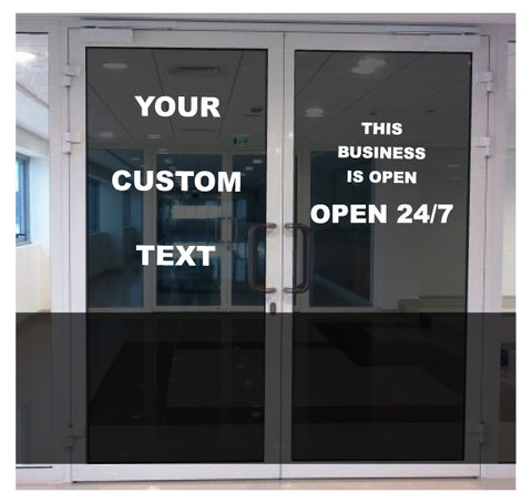 Glass Door Decals Custom Car Decals Car Stickers