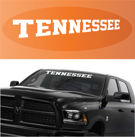 Tennessee decal custom windshield banner custom car decals car stickers