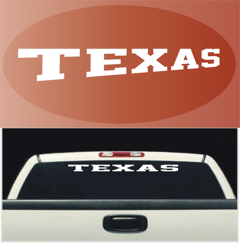 Texas Decal Sticker Custom Windshield Banner Custom Car Decals Car Stickers