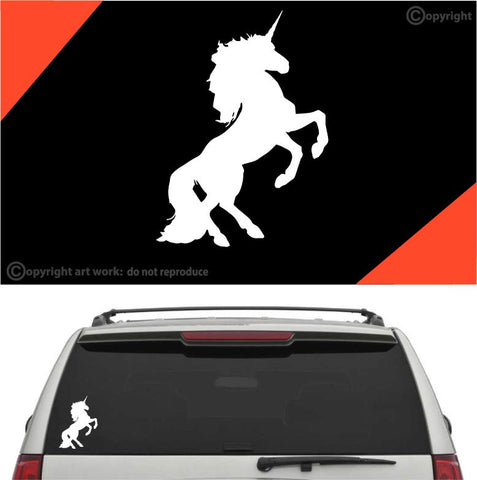 Unicorn Decal Car Sticker #A1 Custom Car Decals Car Stickers