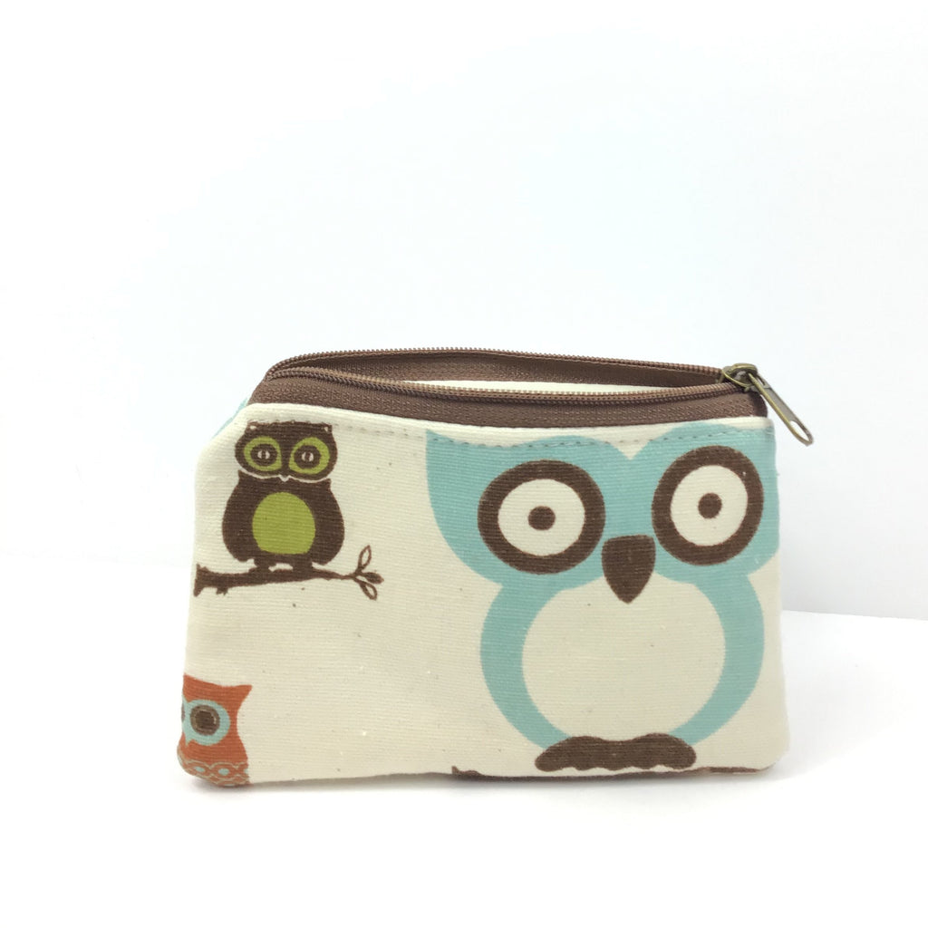 Kaylie Coin ZIP - Blue Owl