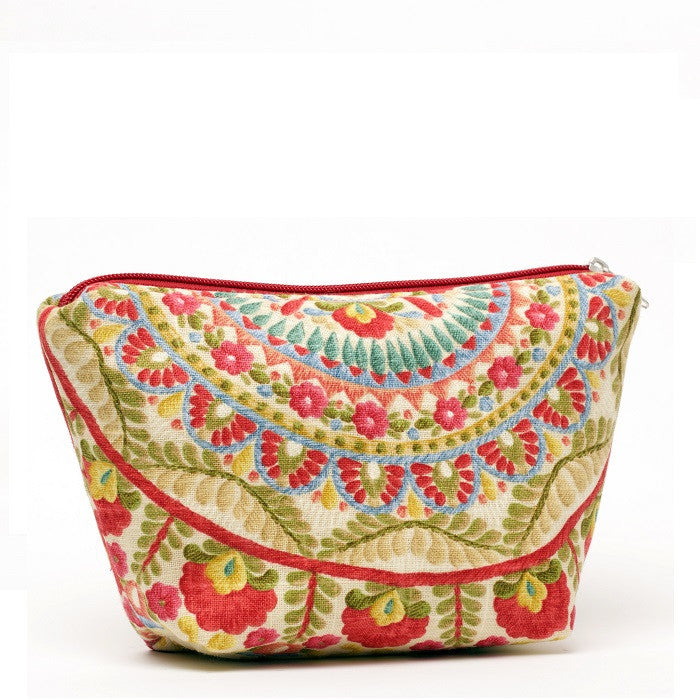 Cyndi Cosmetic Bag Garden