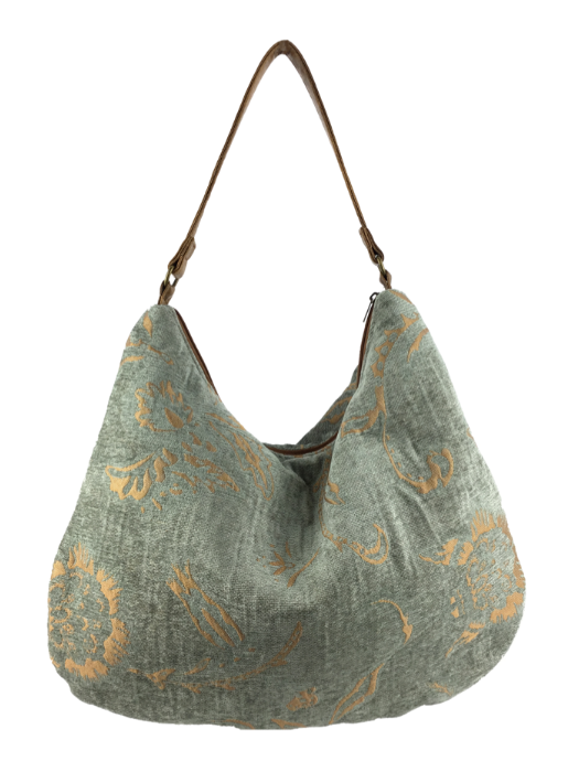 Victoria Hobo - Grey Gold